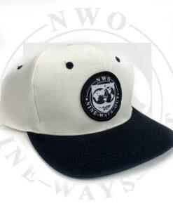 hat front black