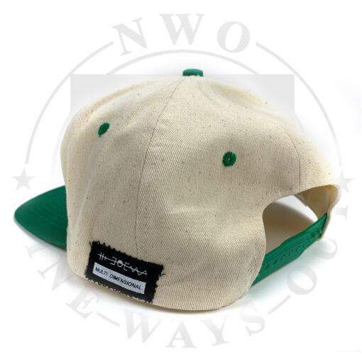 hat green back scaled