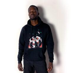 hoodie modeled